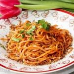 Spaghetti z marchewki z...