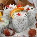 Pudding kokosowy z chia,...