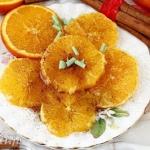 Pomarańcze z miodem i...