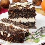 Ciasto makowe z czekolada...