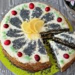 Tort z masy makowej (z kr...