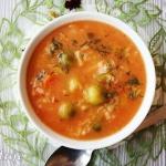 Zupa pomidorowa z ryżem...
