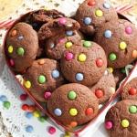 Czekoladowe ciasteczka z...