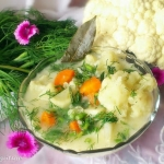 Zupa kalafiorowa z koperk...