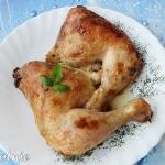 Kurczak w sosie...