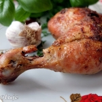 Kurczak mocno rumiany z...