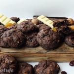 Ciastka czekoladowe z orz...