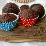 Muffiny czekoladowe z wod...