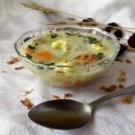 Zupa porowo-serowa z...