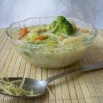Zupa serowo-brokulowa z k...