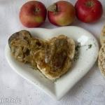 Watrobka z jablkiem