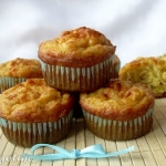 Muffiny z zoltym serem