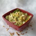 Salatka brokulowo-serowa ...