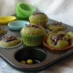 Muffiny z zielona herbata...