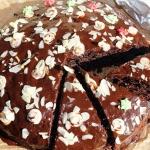 Czekoladowe ciasto z piec...