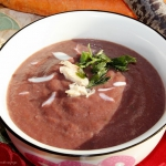 Zupa krem z fioletowej ma...