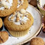 Muffinki z orzechami wlos...