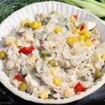 Kolorowa salatka z fasolk...