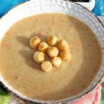 Zupa krem z ziemniakami,...