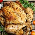Kurczak z solanki...