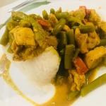 Kurczak curry z...