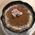 Tort kawowo-kakaowy