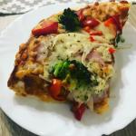 Pizza na puszystym...