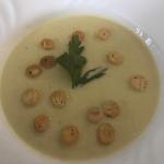 Kremowa zupa serowa z...