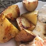 Ziemniaki pieczone np....