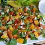 Wiosenna salatka z kurcza...