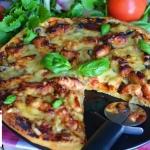 Pizza z kurczakiem...