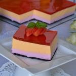 Ciasto kolorowa pianka