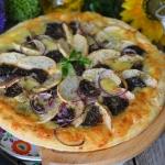 Rustykalna pizza z...