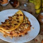 Łaciaty omlet z karmeliz...