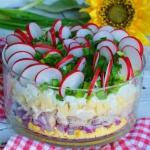 Wiosenna jajeczna salatka...