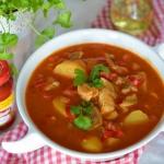 Zupa rybna na pomidorach...