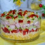 Warstwowa salatka imprezo...