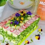 Łososiowy tort...