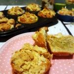 Maslane muffinki z rabarb...