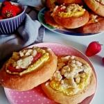 Drozdzowki z serem i trus...