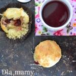 Muffiny z serem brie i ga...
