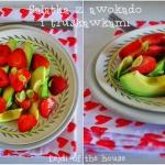 Salatka z truskawkami,...