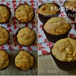 Muffinki z jablkami, mocn...