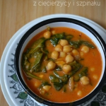 Curry z ciecierzyca, mlek...