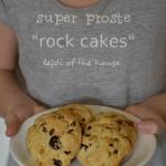 Rock cakes...