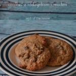 Cookies owsiane z miodem...