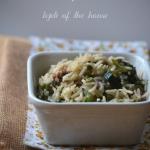 Ryż z zielonymi...