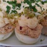 jajka faszerowane tunczyk...