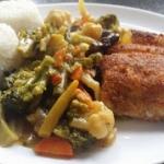 ryba z warzywami po...