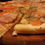 pizza na bogato :D